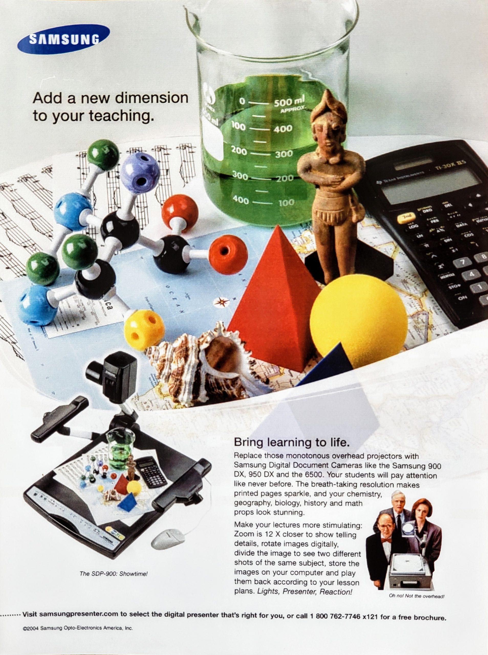 Samsung Opto-Electronics_teaching_ad_18