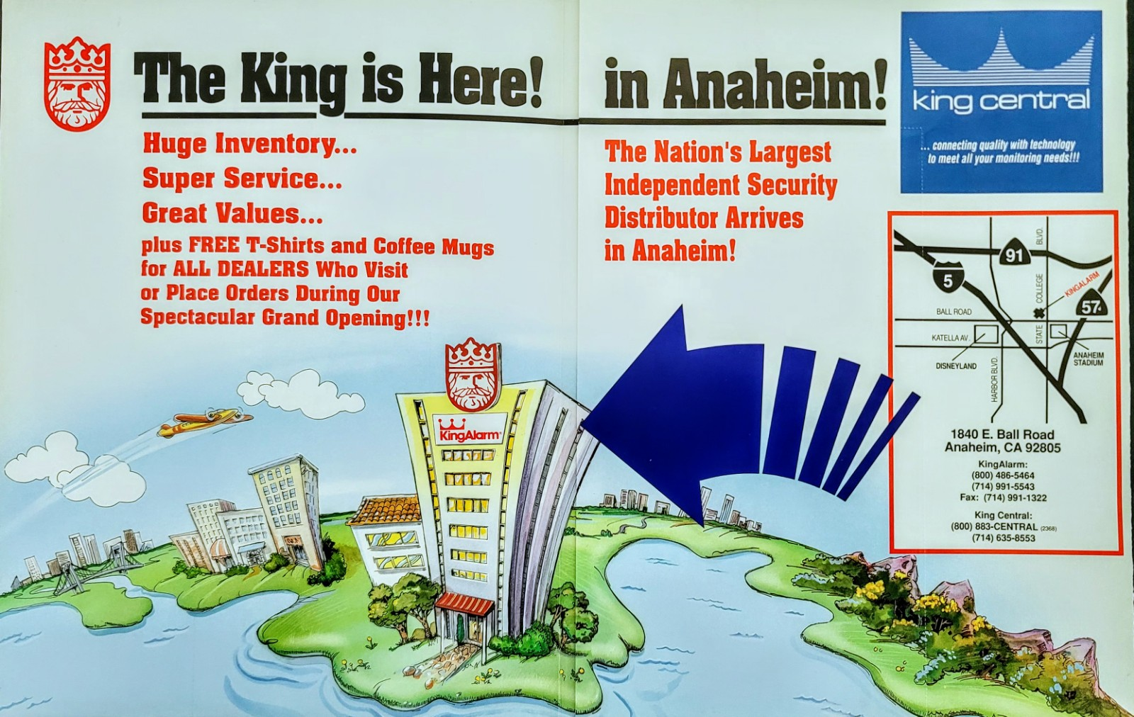 kingalarm_ad_the king is here in anaheim_2